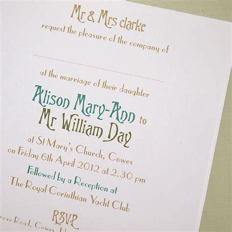 wedding invitations inside sunshinebizsolutions - Inside Of Wedding Invitation