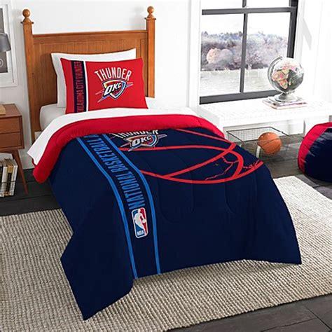 bed bath beyond okc nba oklahoma city thunder embroidered comforter set
