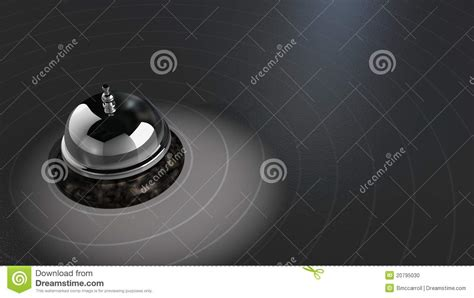 desk bell stock photo image 20795030