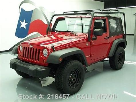 Used Jeep Wrangler Roof Rack by Find Used 2007 Jeep Wrangler X 4x4 6speed Roof Rack Tow