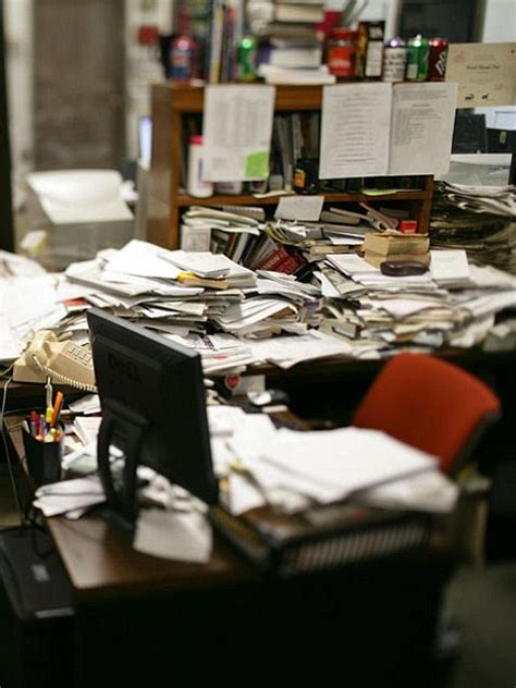 Cluttered Desk by Desks In The Office Can Actually Lead Employees To