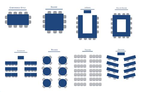 conference room configuration options california state