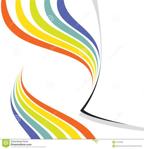 rainbow design page layout royalty free stock photos