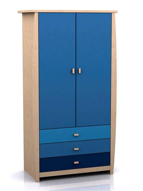 Childrens Blue Wardrobe by Sydney Children S Multiclour Storage Bedroom Furniture
