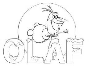 Olaf coloring pages printable olaf coloring page