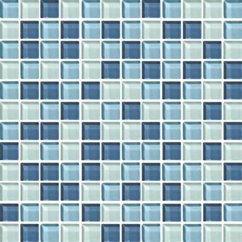 daltile color wave daltile color wave glass cw27 winter blues blend 1 x 1