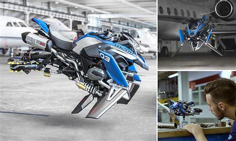 bmw unveils  flying motorbike concept based  lego