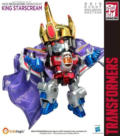 Nations Kidslogic Transformers logic mecha nations mn 05k king starscream coronation kit third or custom