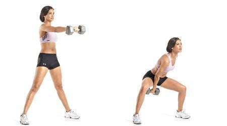Single Arm Dumbbell Swing Health Fitness Journey Pinterest