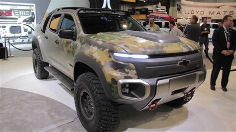 Chevy Colorado ZH2 Concept 2016 SEMA Show YouTube