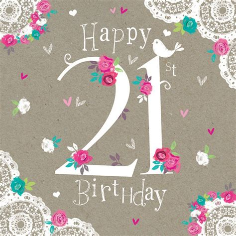 Images Of 21st Birthday Cards