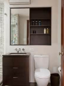 Small Bathroom Cabinet Ideas Small Bathroom Try A Recessed Bathroom Cabinet
