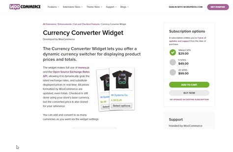 currency converter widget best woocommerce currency converter plugins learnwoo
