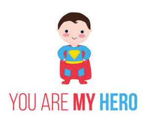 Custom Stamped Necklace Pdf Diy Greeting Card Happy Father S Day You Are My Hero Printable 6x4 Inch