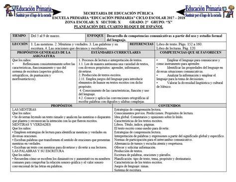 planeaciones cuarto grado bloque 1 primer bimestre ciclo escolar 2014 planeaciones del segundo grado del cuarto bloque para el