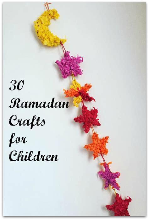 children craft 30 ramadan crafts for children muslim mummy