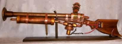 Brass Faucet Adapter Steampunk Rifle