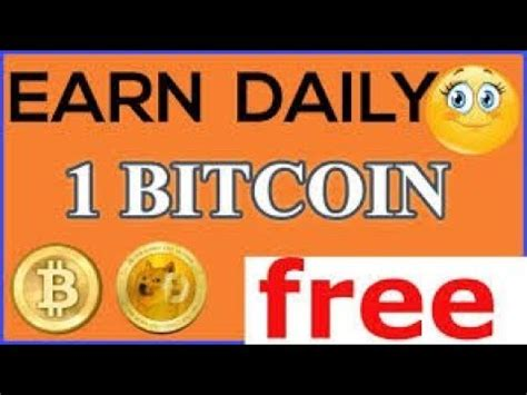 Earn Free Bitcoin Hash Earn by Earn 1 Bitcoin Daily Without Investment