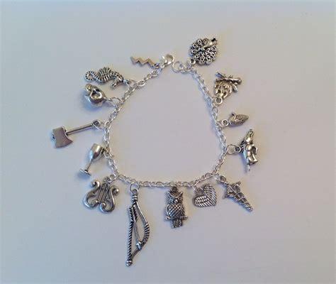 Greek Mythology Charm Bracelet Jewelry Olympians god