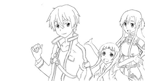 anime coloring pages sword art online anime coloring pages sword art online fun coloring pages