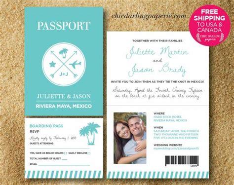 free shipping printed or digital passport wedding