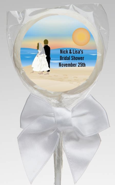 couples bridal shower favors bridal shower lollipop favors
