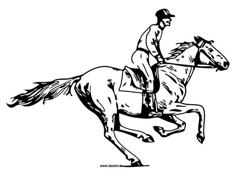 coloring page galloping horse coloring galloping horse