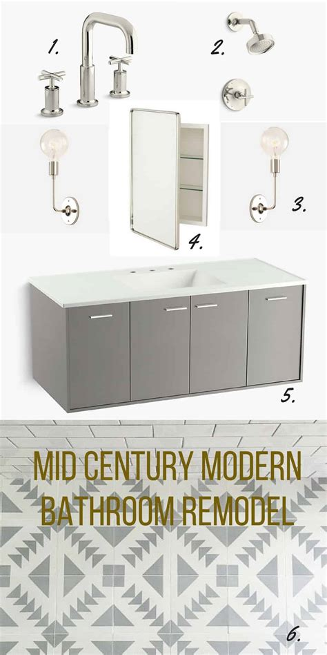 Modern Bathroom Remodel by Mid Century Modern Bathroom Remodel Inspiration Pretty