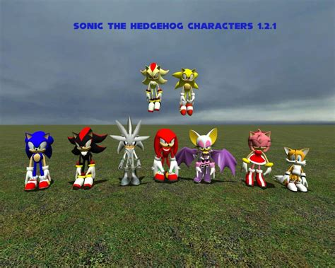 download game bima x mod character sonic the hedgehog characters garrysmods org