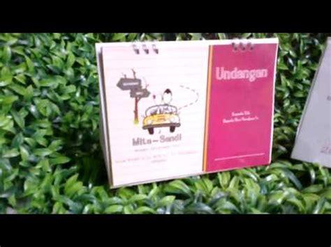 Undangan Pernikahan Murah 88116 contoh undangan pernikahan perkawinan murah unik hardcover softcover fungsional