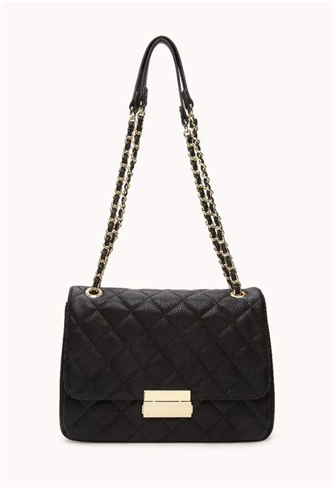 Quilted Shoulder Bags by Forever 21 Signature Quilted Shoulder Bag Where To Buy How To Wear