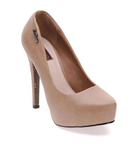 high heel flats flat n heels khaki high heel pumps price in india buy