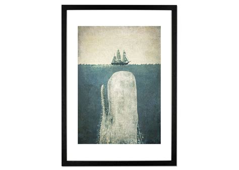 terry fan the whale art print white whale by terry fan made com