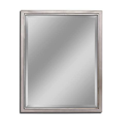 24 x 30 bathroom mirror deco mirror 24 in w x 30 in h classic metal framed wall
