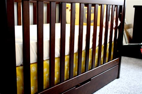 Make Your Own Crib Skirt by Diy Make Your Own Crib Skirt
