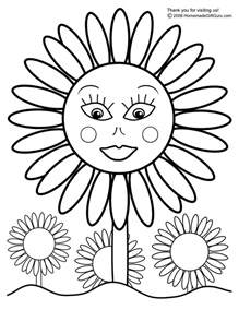 sunflower coloring pages free coloring pages printable sunflower coloring pages
