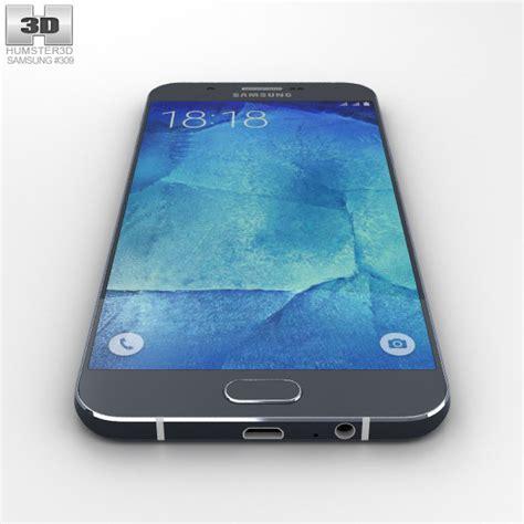 Samsung A8 Marvel Custom 1 samsung galaxy a8 midnight black 3d model hum3d