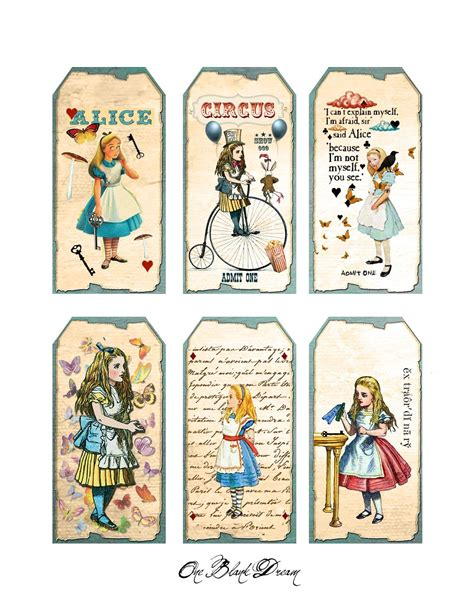 printable pictures alice in wonderland free alice in wonderland cutouts free alice in