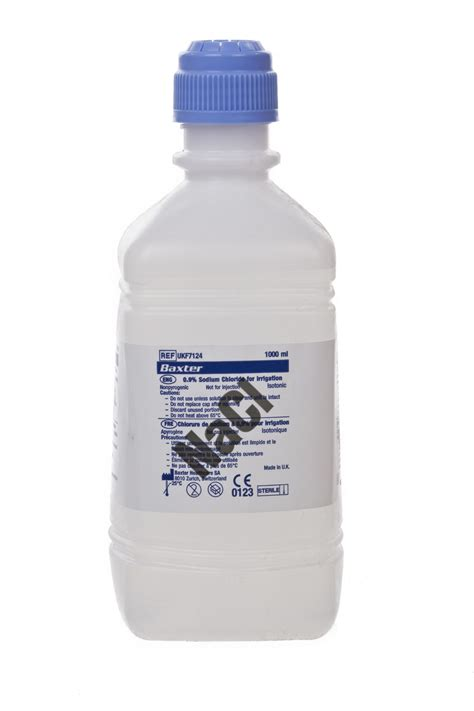 Sodium Chloride Shelf by Sodium Chloride 0 9 For Irrigation Pour Bottle 1000ml