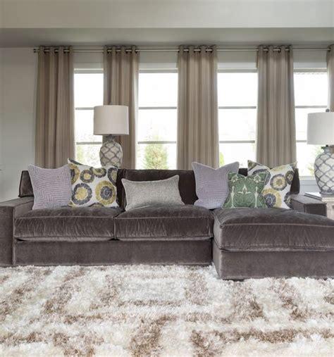 Living Room Charcoal Gray Sectional Sofa With Chaise Charcoal Gray Sectional Sofa With Chaise Lounge