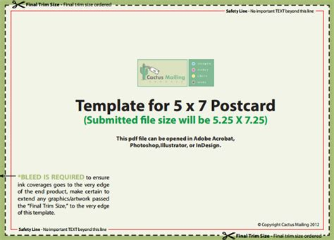 5 x 7 card templates for printing river photohsop 5x7 postcard template for word cards office