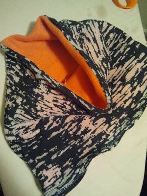 ls made from recycled materials recycled crafts warm fleece cowl another way to give an