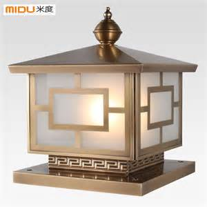 outdoor column light column mount outdoor lights warisan lighting