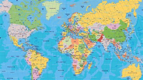 world map with country names in world map with country name in hd maps of usa