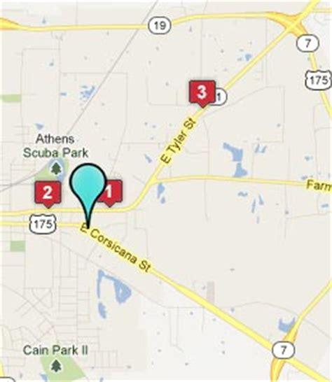 map of athens texas athens texas hotels motels see all discounts