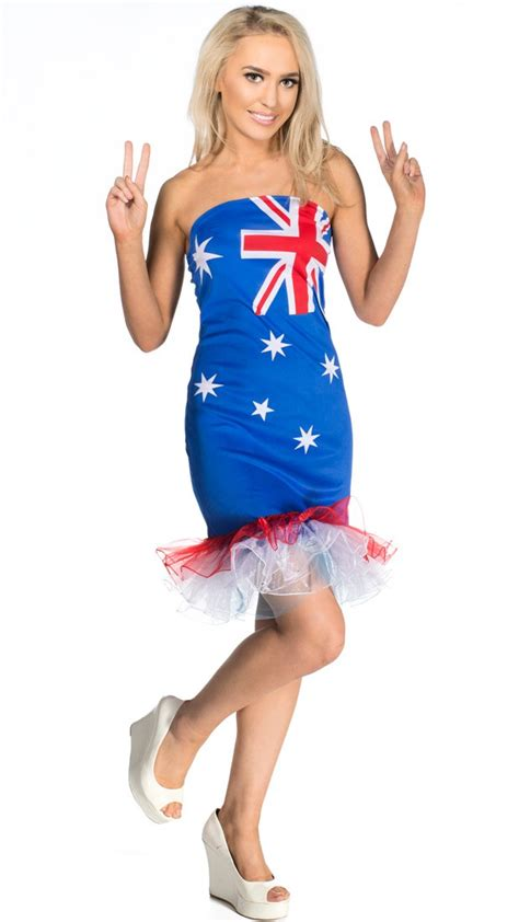 women s budget tutu australia day dress australian flag