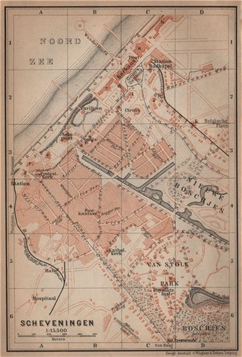 netherlands map den haag scheveningen town city stadsplan den haag the hague