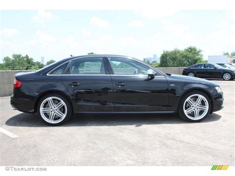black audi brilliant black 2013 audi s4 3 0t quattro sedan exterior