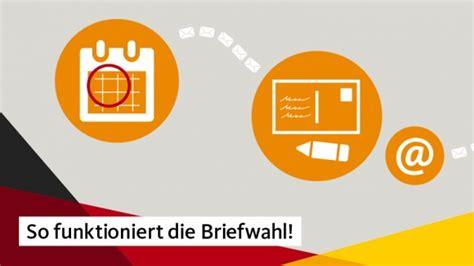 Antrag Briefwahl Deutschland Briefwahl Christlich Demokratische Union Deutschlands