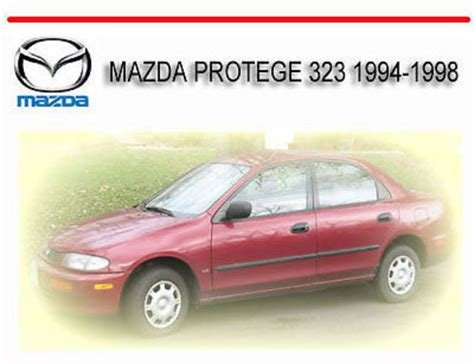 vehicle repair manual 1993 mazda protege regenerative braking service manual old car manuals online 1989 mazda b2600 regenerative braking service manual